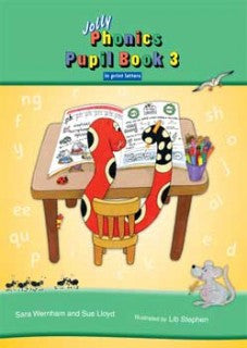 Jolly Phonics Pupil Bk 2 Colour in Print Letters