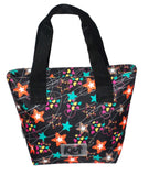 Norma Lunch Bag Kiut Stars Black