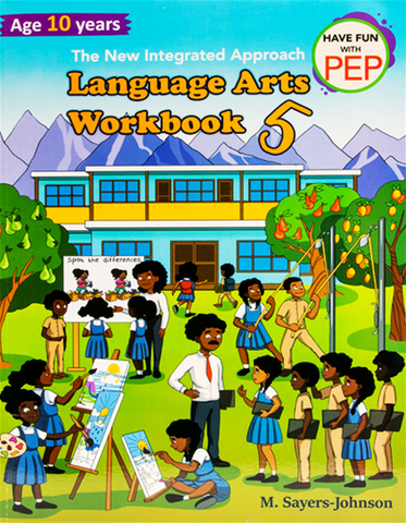 The New Integrated Approach Language Arts Workbook 5 Age 10 Years by M. Sayers-Johnson