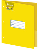 Norma Large Double Pocket Folder Norma Color Paper Portfolio
