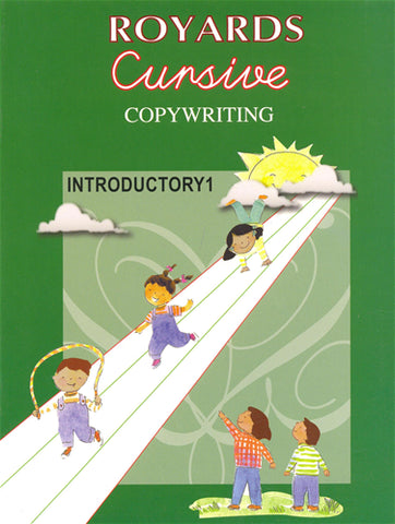 Royards Cursive Copywriting Introductory Book 1