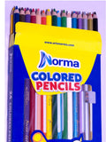 Crayons Norma Colored Pencils X 24 + Sharpener