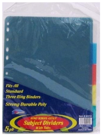 Poly Dividers 8 Pack