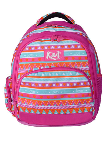 Norma Small Backpack Kiut Bohemian Chic Pink