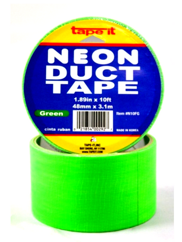 Duct Tape Neon Colors 1.89 in X 10ft