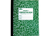 Composition Notebook - 48 Sheets/ 96 Pages Grade 1 Color Cover