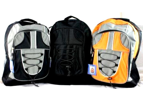 "Backpack 17"" Assorted Colors"