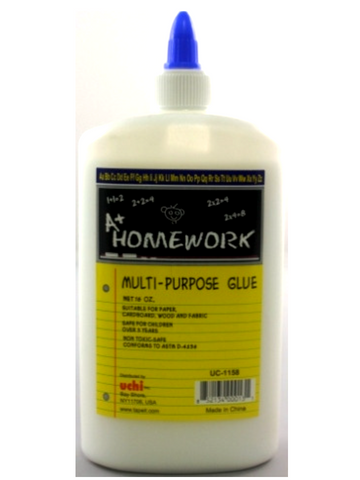 A+ HOMEWORK Multi-Purpose Glue 16oz