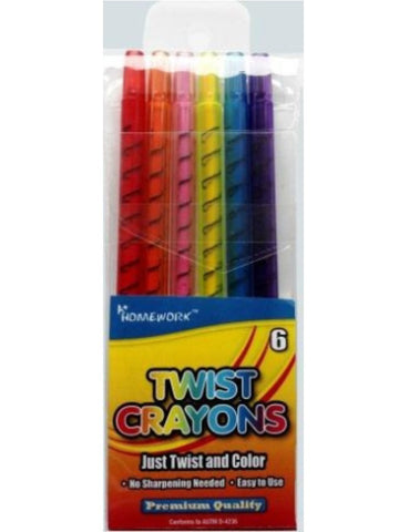 Twistable Crayons 6pk