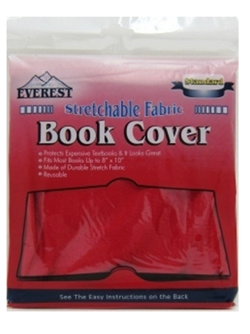 STRETCHABLE FABRIC BOOK COVER