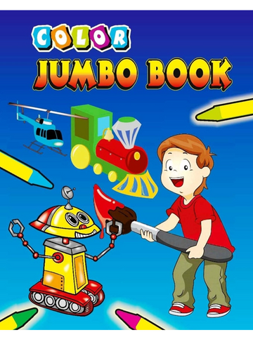 Uc20061 A Homework Bulk Super Jumbo Coloring Book 288 Pages