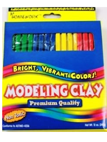 Modeling Clay 320g 3/4 Lb