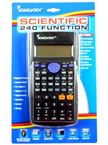 Scientific Calculator Deluxe  240 Functions