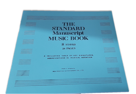 The Standard Manuscript  Music Book