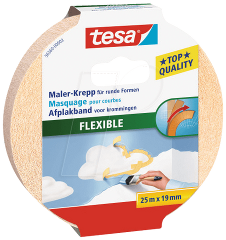 tesa® Flexible Masking Tape Creative 25mx19mm