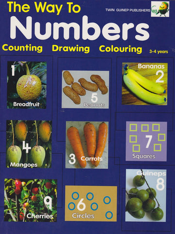 The Way To Numbers  - Twin Guinep Publishers