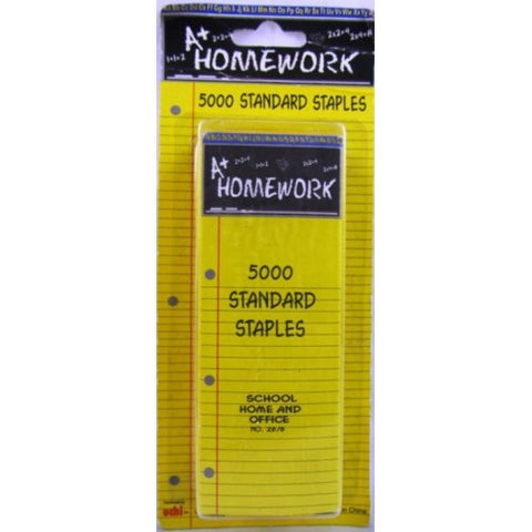 Staples Standard Size - 5000CT