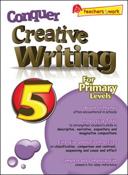 Conquer Creative Writing for Primary Levels Workbook  5