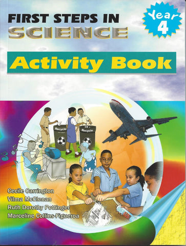 First Steps In Science (Fsis) Activity Book YEAR 4