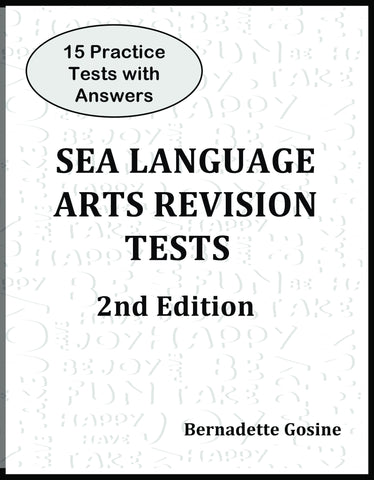 30 SEA Practice Test in Language Arts (Teacher's Edition)