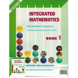 INTEGRATED MATHEMATICS FOR PRIMARY SCHOOLS  Book  1