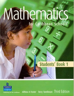Mathematics For Caribbean Schools 3rd Edition Book 1