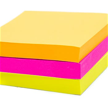 "Sticky Notes 3""X3""-100 Sheets -Neon"