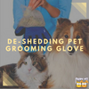 All About the De-Shedding Pet Grooming Glove