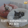 Introducing the Fluffy Marshmallow Cat and Dog Bed!