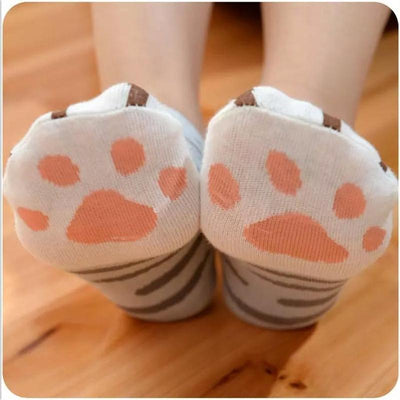 Cute Cat Claw Ankle Socks-Socks-FreakyPet
