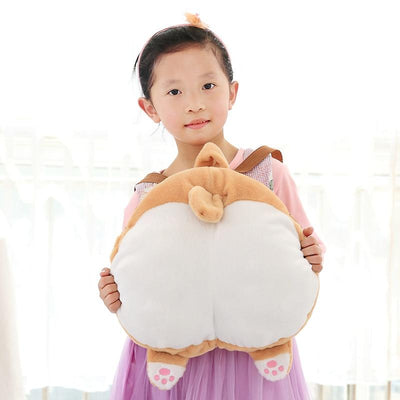 Corgi Butt Plush Backpack-Plush Backpacks-FreakyPet