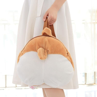 Corgi Butt Plush Backpack