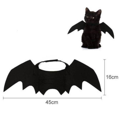 Bat Wings Pet Costume-Cat Clothing-FreakyPet