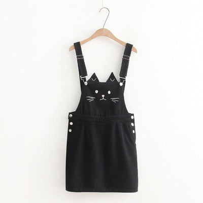 Lovely Cat Suspender Dress-FreakyPet