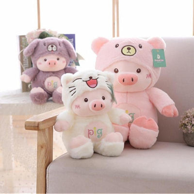 Kawaii Pig Plush Toy