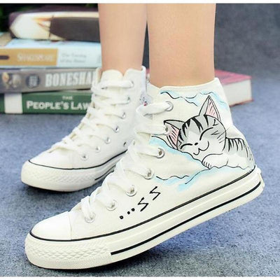 cat flats shoes