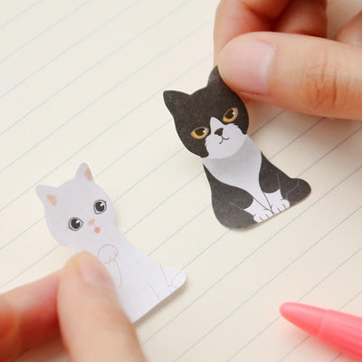 Cute Carton Cat Memo Sticker-Memo Pads-FreakyPet
