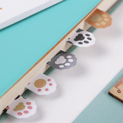 3PCS Cute Cat Claw Sticky Notes-FreakyPet