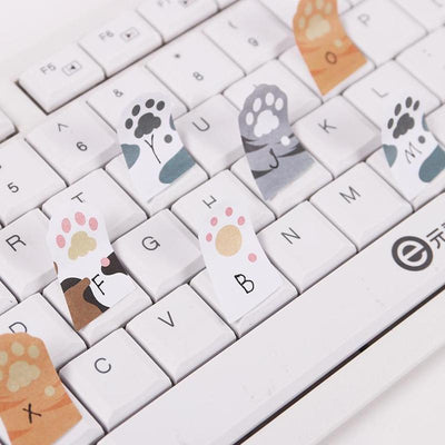 3PCS Cute Cat Claw Sticky Notes-Memo Pads-FreakyPet