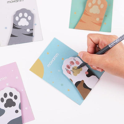 3pcs Cat Paw Sticky Notes Sticker-Memo Pads-FreakyPet