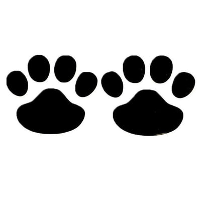 Paw Prints - Car Decal-Car Stickers-FreakyPet