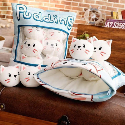 A Bag Of Plush Cat Pudding-FreakyPet