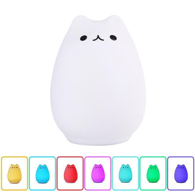 Cheeky Cat LED Lamp-Night Lights-FreakyPet