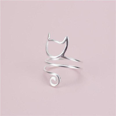 Long Tail Cat Ring-Rings-FreakyPet