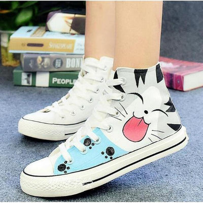 shoes cat