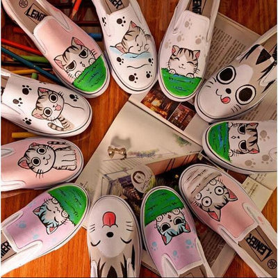 Cute Cat Loafer-FreakyPet