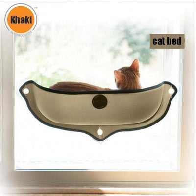 Window Mounted Cat Bed Hammock-Cat Beds & Mats-FreakyPet