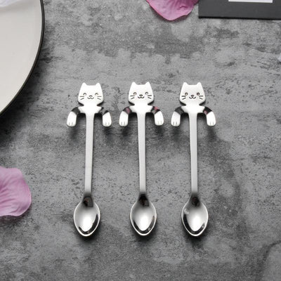 ice cream spoons stainless steel