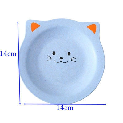 Cat Insulation Coaster & Snack Dish Plates