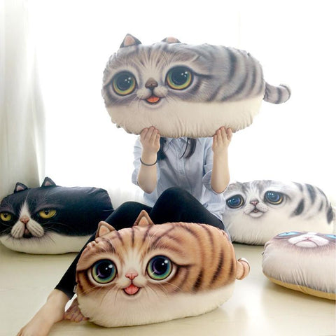 3D Cat Sofa Cushion